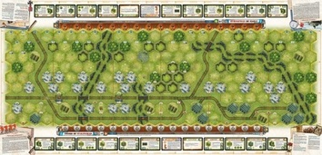 Memoir 44 - OP3 Battle Map - The Sword of Stalingrad/Rats in a Factory - фото 4