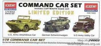 Парк немецких командирских машин