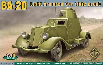 Легкий бронированный автомобиль БA-20