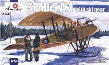 SPAD S.A.4 на лыжном шасси