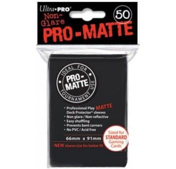 """Протекторы """"Ultra-Pro"""" 50 шт. Черные глянцевые"""