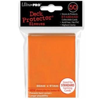 """Протекторы """"Ultra-Pro"""" 50 шт. Оранжевые"""