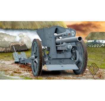 German leFH 18 105mm Field Howitzer