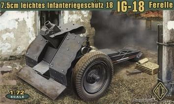 Германская 75mm легкая гаубица IG18