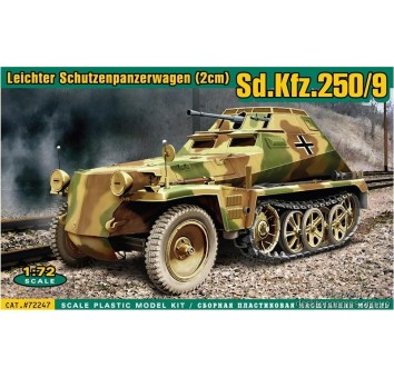 Sd.Kfz.250/Sd.Kfz.250/9 Легкий бронетранспортер (2 см)