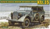 Kfz.15 uniform chassis medium vehicle (with support axle)