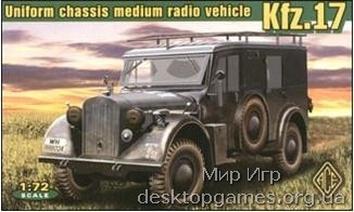 Kfz.17 - uniform chassis medium radio
