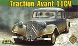 Staff Car Traction 11CV Французский легковой автомобиль.