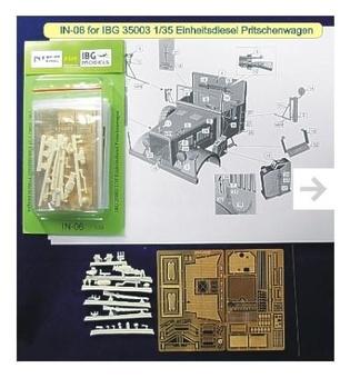 Конверсионный набор для  35003 Einheitsdiesel Pritschenwagen