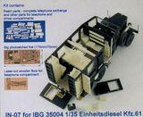 Конверсионный набор для  35004 Einheitsdiesel