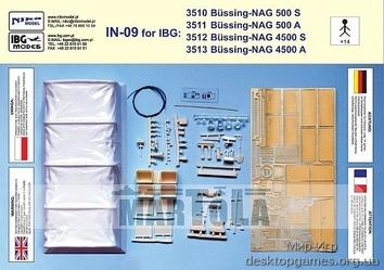 Конверсионный набор для Bussing-Nag 500/4500