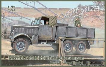 Einheitsdiesel Pritschenwagen (metal cargo body)