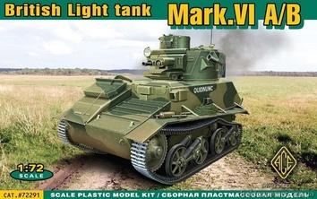 Модель танка Mark.VI A/B
