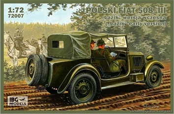 Польский Fiat 508/III ( Lazik  ранняя версия)