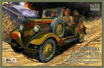 Польский Fiat 508/III ( Lazik  поздняя версия)