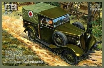 Польский Fiat 508/III (скорая помощь)