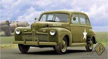 Американский штабной автомобиль 1942г