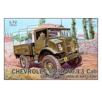 Chevrolet C15A No.13 Cab General Service