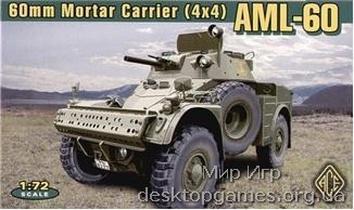Армейский бронетранспортер AML-60 60mm Mortar Carrier.