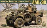 AML-90 Разведывательная машина.