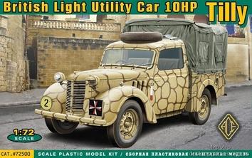 Британский легкий грузовик Tilly 10hp / British light utility car Tilly 10hp