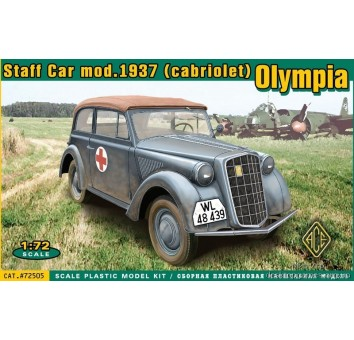 Olympia (cabriolet) staff car, model 1937