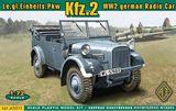Немецкий автомобиль связи Kfz. 2