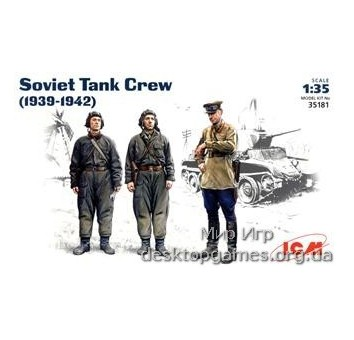 ICM35181 Soviet tank crew, 1939-1942