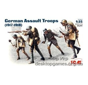 ICM35291 German Assault Troops, 1917-1918
