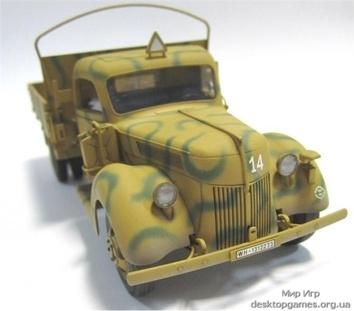 Германский армейский грузовик V3000S (производства 1941 г.) - фото 3