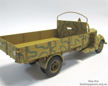 Германский армейский грузовик V3000S (производства 1941 г.) - фото 4