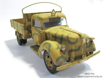 Германский армейский грузовик V3000S (производства 1941 г.) - фото 5