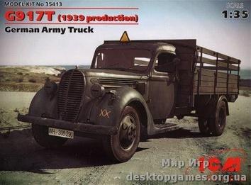 Немецкий армейский грузовик G917T (1939 production)