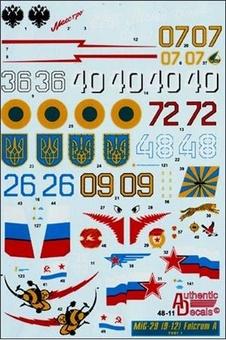 MiG-29 Fulcrum A (9-12)