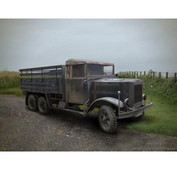 Немецкий армейский грузовик Krupp L3H163