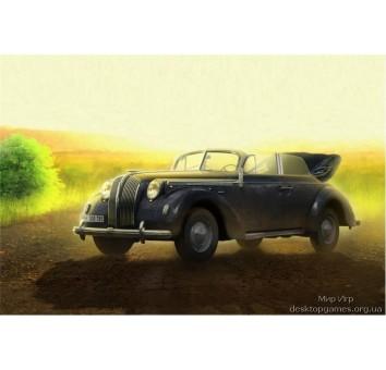 Адмирал Cabriolet - немецкий штабной автомобиль Второй мировой войны