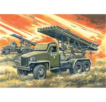 ICM35512 BM-13-16N WWII Soviet Multiple Launch Rocket System
