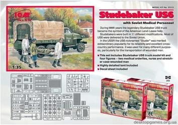«Студебекер» US6 с советским медицинским персоналом - фото 2