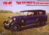 Немецкий легковой автомобиль Typ G4 (W31)