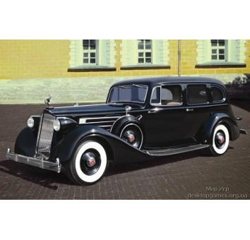 Автомобиль советского руководства II МВ (Модель 1936) c пасажирами