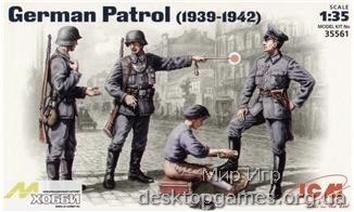 ICM35561 WWII German patrol, 1939-1942