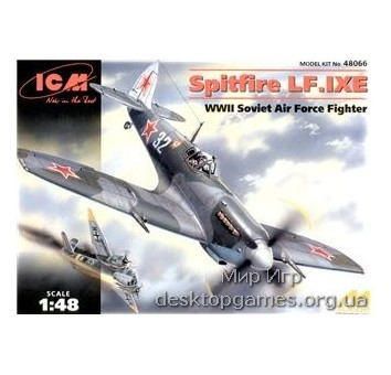 ICM48066 Spitfire LF.IX WWII Soviet fighter