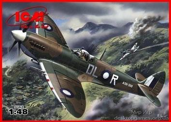 Spitfire Mk.VIII WWII British fighter