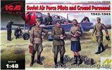 ICM48084 WWII Soviet Pilots and Technics, 1943-1945