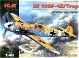 ICM48105 Messerchmitt Bf-109 F4Z/Trop WWII German fighter