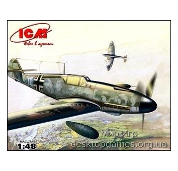 ICM48106 Messerschmitt Bf-109 F4/R3 WWII German fighter