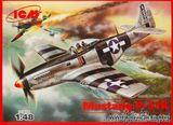 Мустанг P-51K истребителей ВВС Второй мировой войны