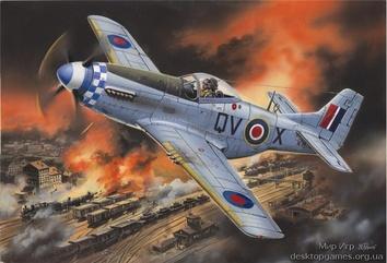 Mustang Mk.IVA, Американский истребитель II МВ