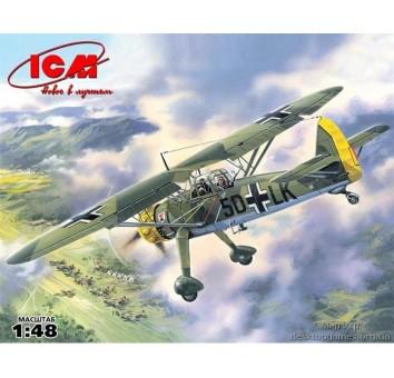 Hs 126A-1Немецкий самолет-разведчик