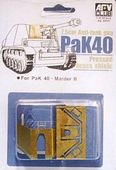Фототравленные детали для модели PAK40